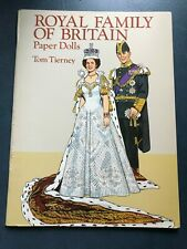 Royal Family of Britain Paper Dolls Tom Tierney