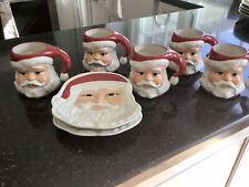 New ListingLongaberger 3D Santa Face Mug Pottery