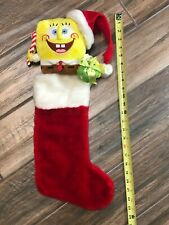 SpongeBob SquarePants Christmas Stocking 23 Inch Candycane Ba30L69
