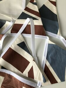 Union Jack Bunting In 100% Cotton Fabric
