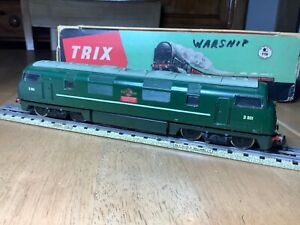 Trix Twin 1118 3 Rail BR Green Warship Diesel D801 Vanguard suit Hornby 3 Rail