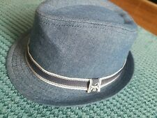 0-12 months boy summer casual formal blue hat from monsoon BNWT