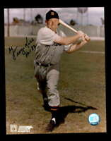 George Kell Hand Signed 8x10 Photo Autograph Tigers