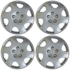 "4 piece SET Hub Caps ABS Silver 15"" Inch Wheel Cover for OEM Rims Cap Covers"