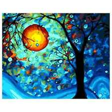 Diy Oil Painting Paint By Number Kit- Dream Tree by Van Gogh 16x20 Inch L9S3