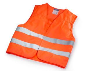 Genuine Mercedes-Benz Warning Vest Orange  With Bag