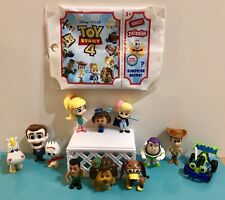 Disney Toy Story 4 MINIS Series 2 Blind Bags Complete Set 12 Figures Woody Forky