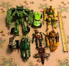 Lot of 8 Transformers ROTF Beast Wars 2x Cheetor Long Haul Optimus Minor Scalpel