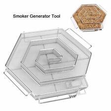 NEU Kaltraucherzeuger Labyrinth Edelstahlgewebe Cold Smoker Kalträuchern