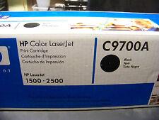 LOT OF 3 HP C9700A Black Toner Cartridge OEM Genuine LaserJet 1500 2500