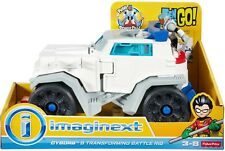 Imaginext Teen Titans Go! Cyborg And Transforming Battle Rig