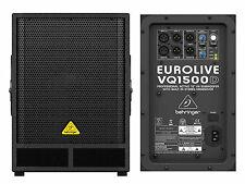"BEHRINGER VQ1500D SUBWOOFER ATTIVO 15"" CON CROSSOVER STEREO 500W"