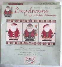 Dimensions Daydreams by Debbie Mumm Santa Trio Christmas Cross Stitch Kit 8x4