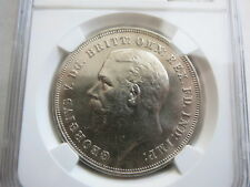 GREAT BRITAIN 1 Crown 1935 NGC MS 64 UNC George V.