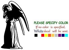 """Doctor Who Weeping Angel Graphic Die Cut decal sticker Car Truck Boat 12"""""""