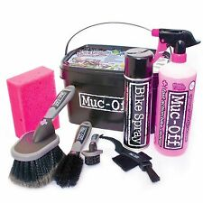 Muc-Off 8 in 1 Road/MTB/Mountain Bike/Cycle/Cycling Cleaning/Cleaner Kit