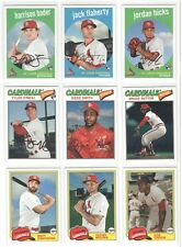 St. LOUIS CARDINALS 2018 Topps Archives Baseball Team Set Bader Flaherty Molina!