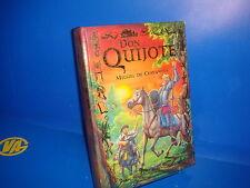 Libro DON QUIJOTE  de Miguel de Cervantes-Ilustrado