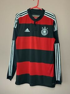 Germany 2014-2015 Player Issue Away Authentic Shirt Adizero Jersey size 8