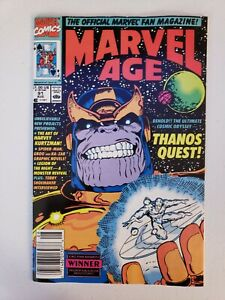 Marvel Age #91 Thanos Quest The Art of Harvey Kurtzman