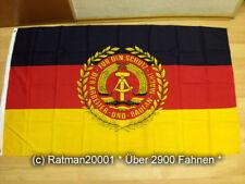 Fahnen Flagge DDR Truppenfahne der NVA - 90 x 150 cm
