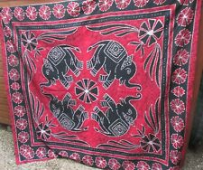 LOTTO N. Indiano Arazzo Appeso a Parete Hippy Batik Elefante Copriletto Bohemien UK STOCK