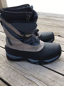Ranger Thermolite Insulated Brown Black Winter Snow Boots Lace Up Size 7 Men's