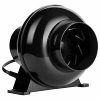 "VIVOHOME 4"" inch Inline Duct Plastic Booster Fan Ventilation Air Blower 195 CFM"