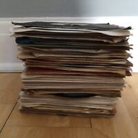 "20 x 7"" - Mixed 1950's and 60's VINYL RECORDS INSTANT STARTER RECORD COLLECTION"
