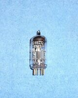 1 RCA 6922 E88CC Vacuum Tube - Gold Pin Audio Twin Triode -  Western Germany