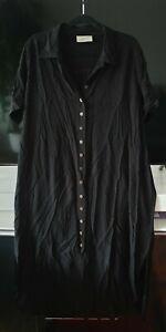 Ann Harvey Ladies Maxi  Dress Size 22 Plus Size Black