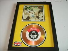 BLONDIE  SIGNED  GOLD CD  DISC  12