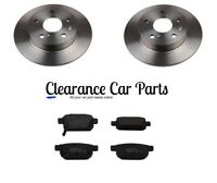FOR SUZUKI SWIFT 1.6 SPORT REAR BRAKE DISCS AND PADS 2011 TO 2017 TOP QUALITY