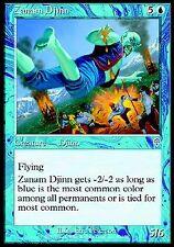 Zanam Djinn NM X4 Invasion MTG Magic Cards Blue