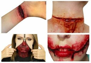 Halloween Make-up Artist Latex Wounds Scars Bloody Sets Fancy Dress