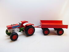 LOT 41093 | Bull Germany Massey Ferguson Traktor mit Anhänger 53cm 70er Jahre
