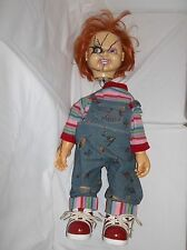"CHUCKY GOOD GUY DOLL 24"" - ELECTRONIC TALKING - DAMAGED FOR PARTS OR REPAIR"