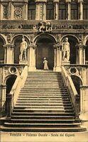 Venezia Venedig s/w AK ~1920/30 Palazzo Ducale Scala dei Giganti Große Treppe