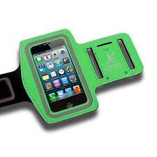 Fundas y carcasas brazaletes color principal verde para teléfonos móviles y PDAs