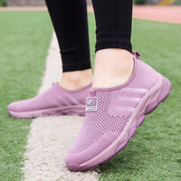 Womens Walking Shoes Slip On Shoes Lightweight Casual Mesh Shoes Breathable