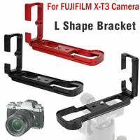 Quick Release L-Plate Bracket Camera Grip Stand Holder For Fujifilm X-T3 Camera