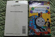 64 Hallmark Thomas the Train Thank you note cards with envelopes Free Shipping