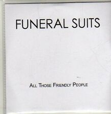 (CQ888) Funeral Suits, All Those Friendly People - 2012 DJ CD