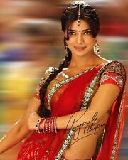 Priyanka Chopra Signed 8X10 Photo Rp Miss World SO SEXY Bollywood Actress Singer