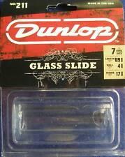 Dunlop Pyrex Small, Heavy Glass Guitar Slide Model 211