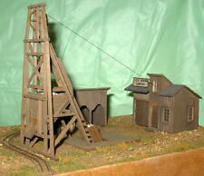 VIRGINIA CITY LUCKY MINE O On3 On30 Model Railroad Structure Unptd Kit CM78909