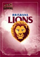 ✺New✺ 2020 BRISBANE LIONS AFL Card CLUB LOGO Dominance