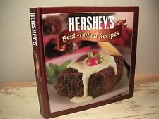 HERSHEY'S BEST-LOVED RECIPES Cookbook Cakes Cookies Pies Desserts HC Very Clean
