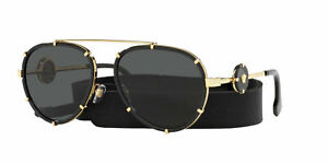 Versace Sunglasses VE2232 143887 61mm Black / Dark Grey Lens