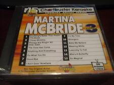 CHARTBUSTER KARAOKE DISC 90284 MARTINA MCBRIDE #3 CD+G COUNTRY SEALED 15 TRACKS